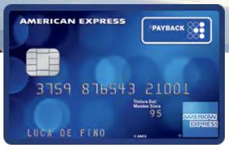 Carta di Credito American Express Payback