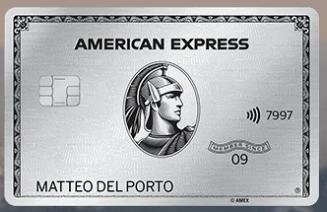 Carta di Credito American Express Platino