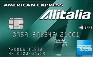 alitalia verde american express
