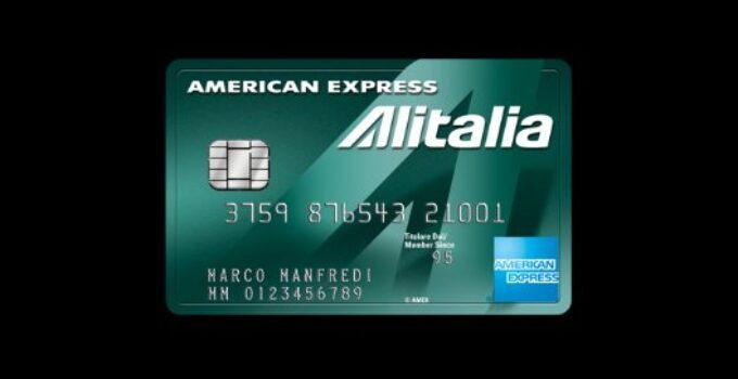 Carta Alitalia Verde American Express