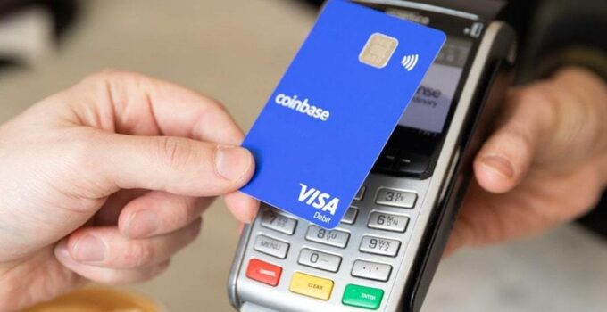 Carta prepagata Coinbase Card