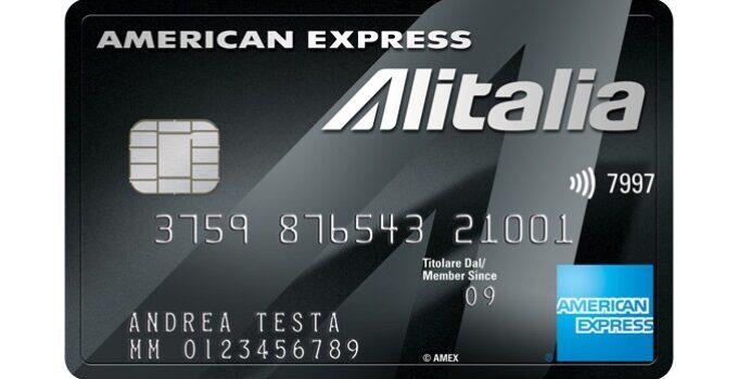carta alitalia platino american express
