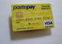 Postepay Standard Gialla